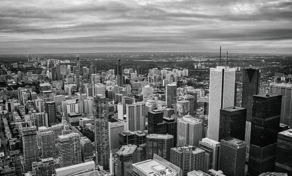 Cn Tower Wall Art - Photograph - Toronto Skyline by Martin Newman