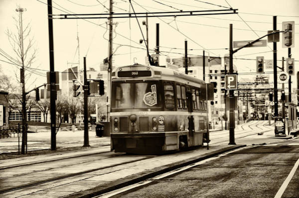 Photograph - Toronto Street Car In Sepia by Bill Cannon