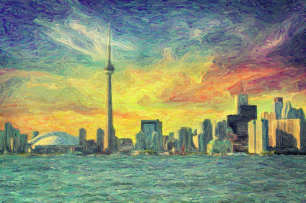 Wall Art - Painting - Toronto  by Zapista Zapista