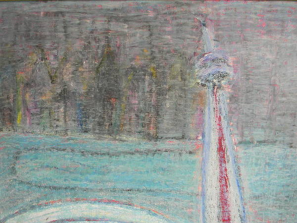 Painting - Toronto The Confused by Marwan George Khoury