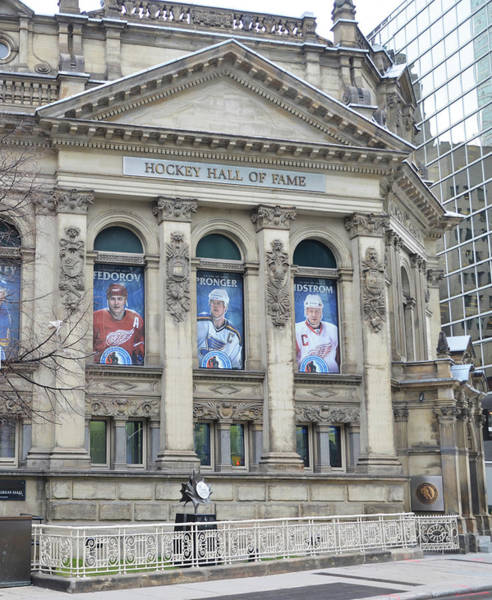 Photograph - Toronto - The Hockey Hall Of Fame by Bill Cannon