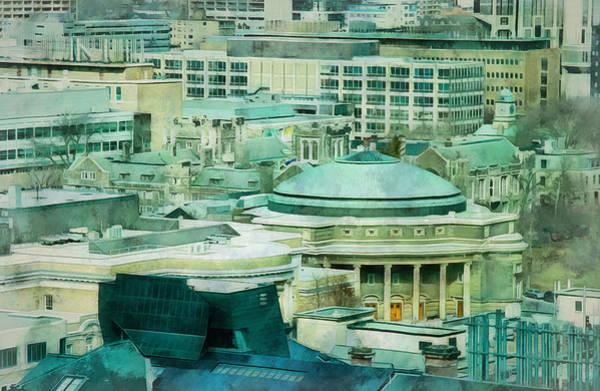 Digital Art - Toronto Window View by JGracey Stinson