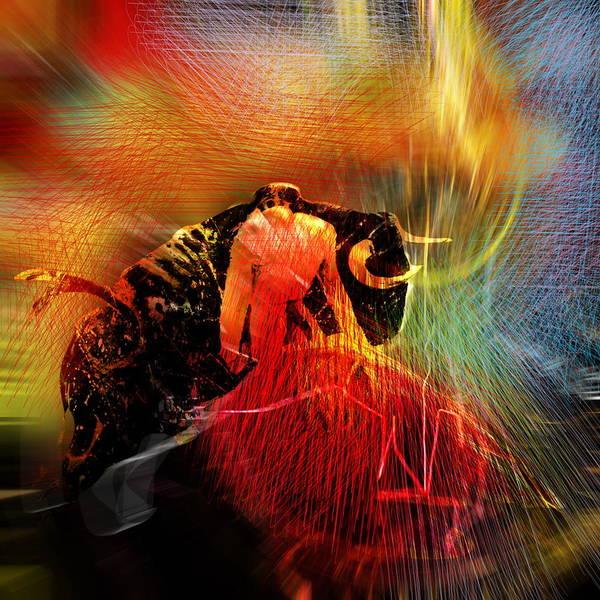 Toros Painting - Toroscape 19 by Miki De Goodaboom