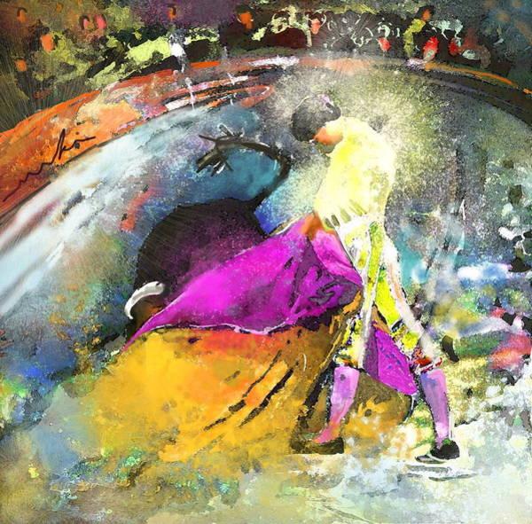 Toros Painting - Toroscape 28 by Miki De Goodaboom