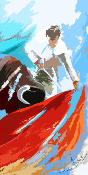 Acrilic Painting - Toroscape 32 by Miki De Goodaboom