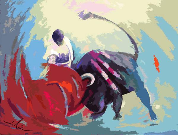 Acrilic Painting - Toroscape 33 by Miki De Goodaboom