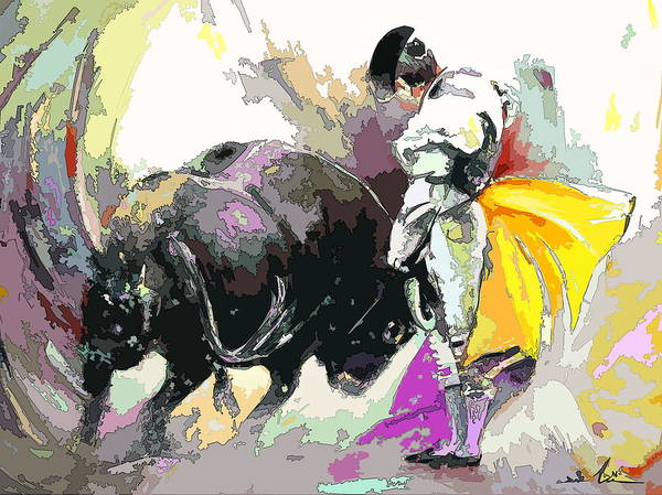 Painting - Toroscape 39 by Miki De Goodaboom