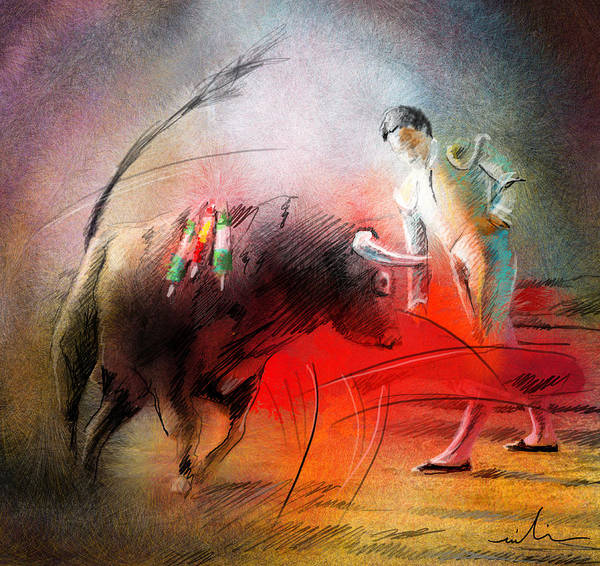 Painting - Toroscape 59 by Miki De Goodaboom