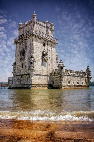Fortification Photograph - Torre De Belem Lisbon Portugal  by Carol Japp