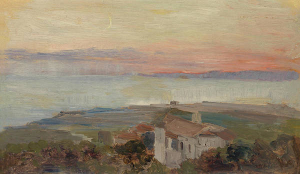 Marie Painting - Torre Del Greco by Marie Egner