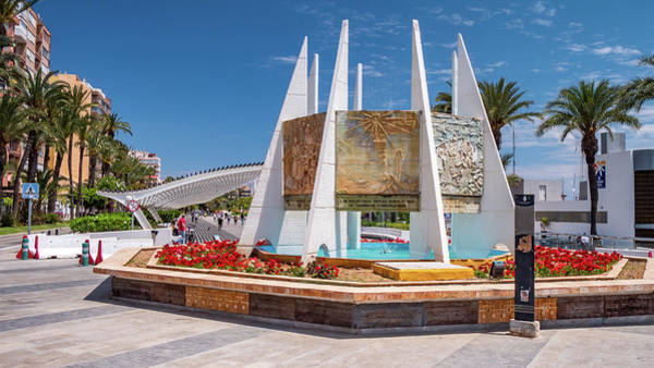 Wall Art - Photograph - Torrevieja Park Paseo Vistalegre by Mike Walker