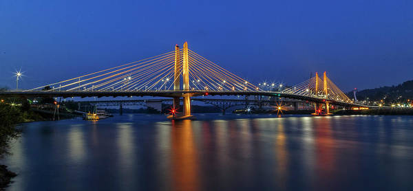 Photograph -  Torrid Tilikum Crossing by Wes and Dotty Weber