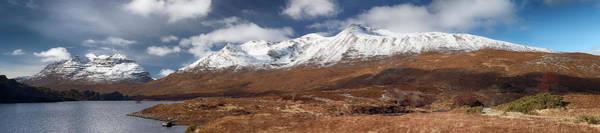 Beinn Eighe Photograph - Torridon Panorama by Grant Glendinning