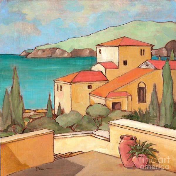 Terracotta Painting - Torrino I by Paul Brent