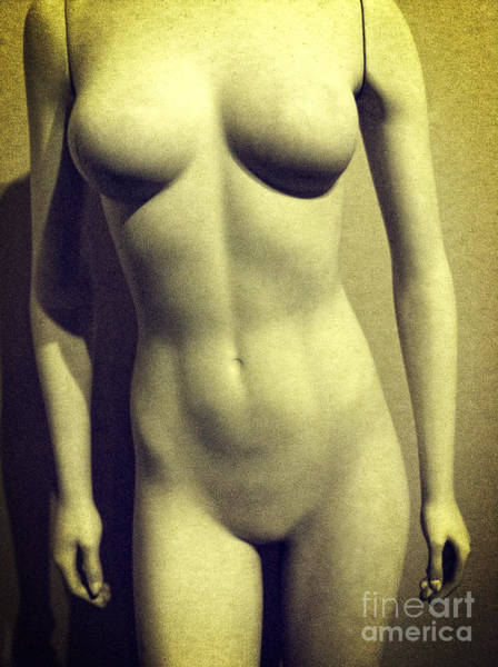 Photograph - Torso Of Nude Female Mannequin  by Bryan Mullennix