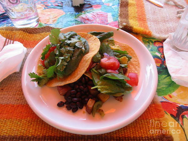 Photograph - Tostada Times Two by Marie Neder