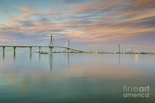 Photograph - Total Calm In The Bay Cadiz Spain by Pablo Avanzini