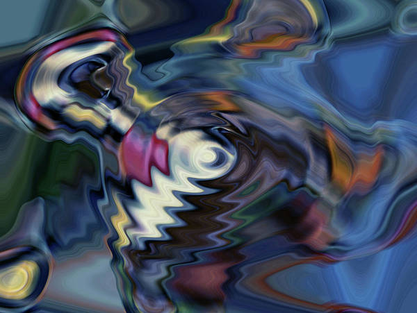 total discombobulation from      U refuse to consider my point Art Print