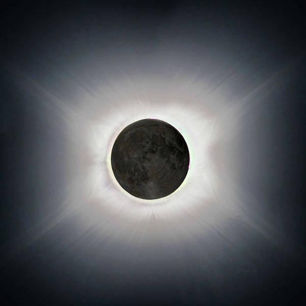 Digital Art - Total Eclipse by OLena Art Brand