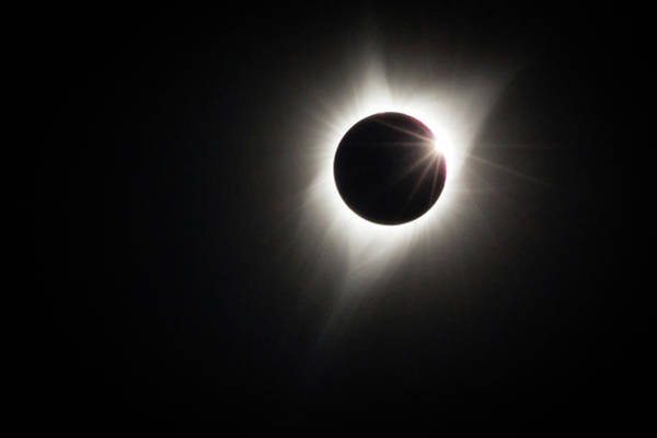 Photograph - Totality by Johnny Adolphson