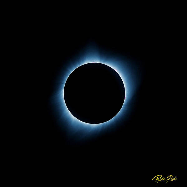 Photograph - Totality by Rikk Flohr