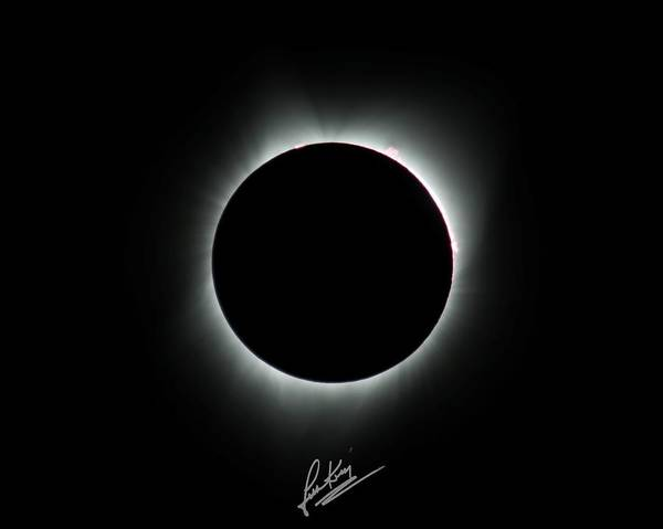 Photograph - Totality Signature Edition by John King