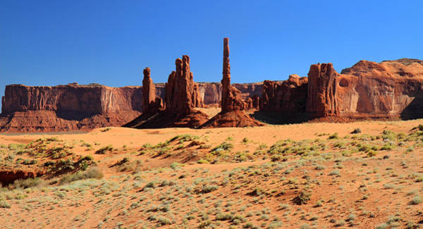 Photograph - Totem Pole In Monument Valley by Pierre Leclerc Photography