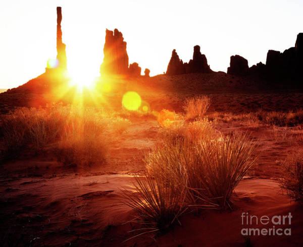 Photograph - Totem Pole Sunrise by Scott Kemper