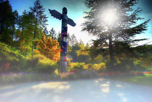 Photograph - Totems In Mist by Lawrence Christopher