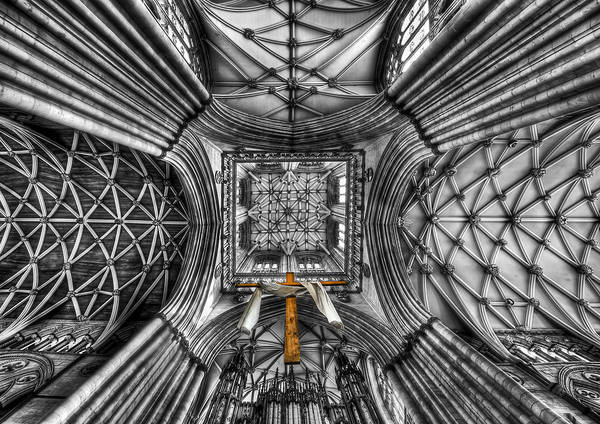 Ceiling Wall Art - Photograph - Touched By Heaven by Evelina Kremsdorf
