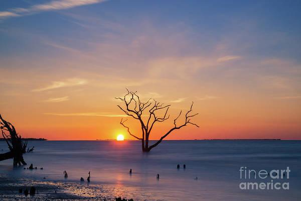 Wall Art - Photograph - Touching The Horizon At Botany Bay  by Michael Ver Sprill