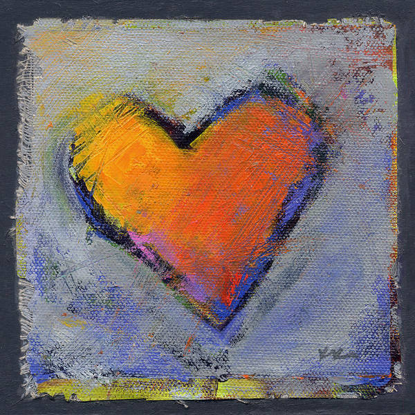 Art Print featuring the painting Love 6 by Konnie Kim