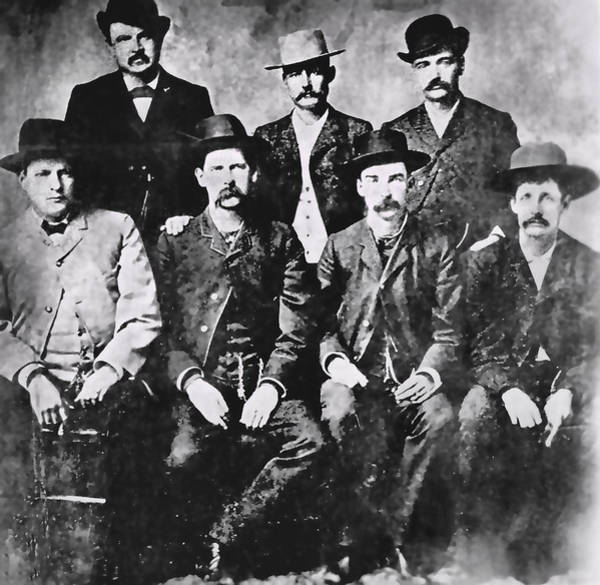 Colt Photograph - Tough Men Of The Old West by Daniel Hagerman