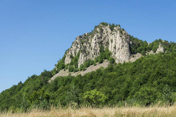 Photograph - Tough Rock Face - Climbing Mountains Is Its Own Reward by Georgia Mizuleva