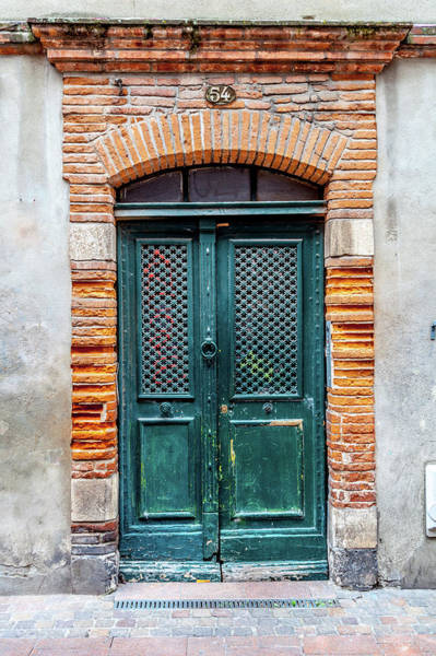 Wall Art - Photograph - Toulouse Door Number 54 by W Chris Fooshee