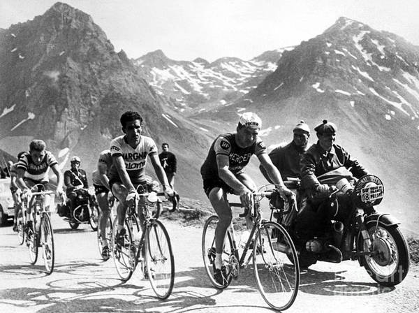 Wall Art - Photograph - Tour De France 1963 by French School