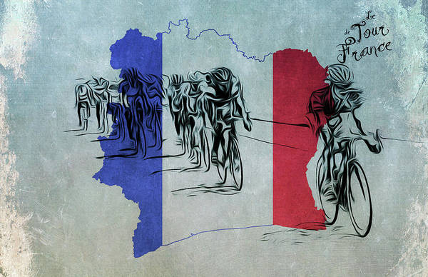 Photograph - Tour De France by Bill Cannon