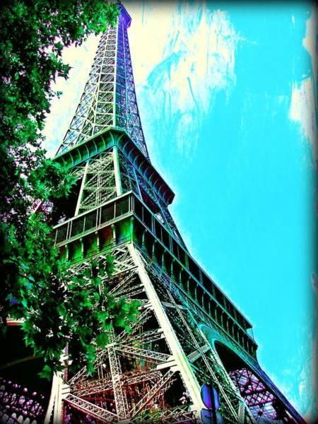 Photograph - Tour Eiffel Avec Arbre by Christine Paris