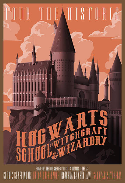 Wall Art - Photograph - Tour Hogwarts Castle by Christopher Ables