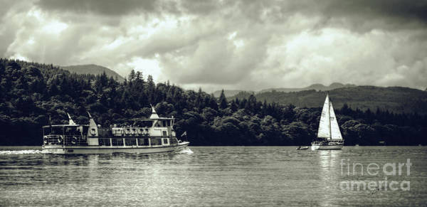 Photograph - Touring The Lakes In Sepia by Lance Sheridan-Peel