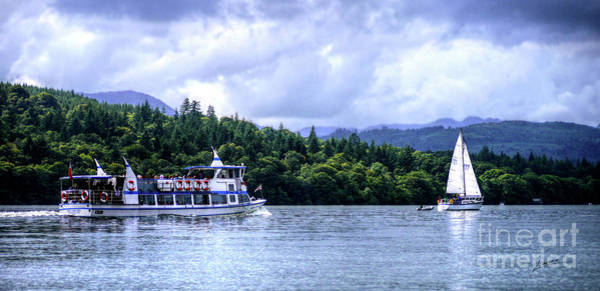 Photograph - Touring The Lakes by Lance Sheridan-Peel