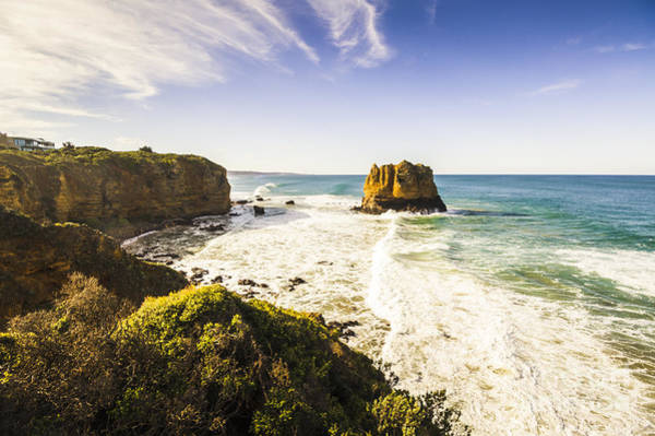 Foreshore Photograph - Tourism Landmarks In Australia by Jorgo Photography - Wall Art Gallery