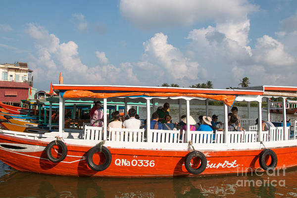 Quang Nam Province Photograph - Tourist Boat Hoi An Vietnam by Martin Berry