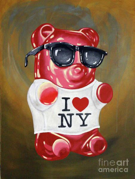 Gummy Bear Painting - Tourist by Derek Smith