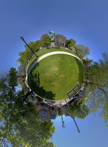 Wall Art - Photograph - Touro Park Little Planet by Christopher Blake