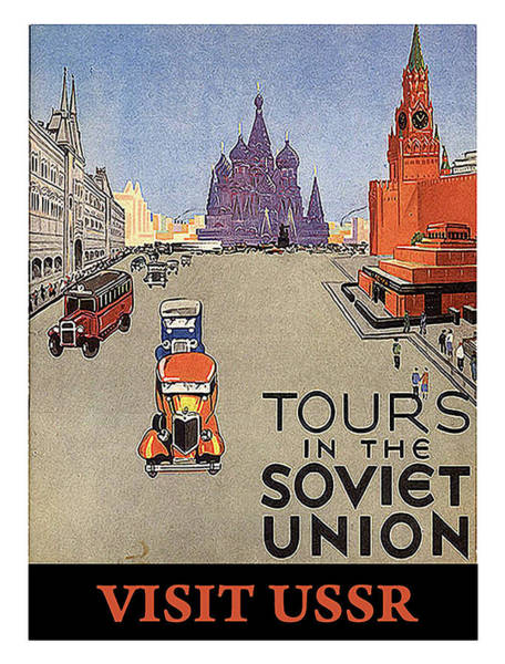 Wall Art - Painting - Tours In The Soviet Union by Long Shot