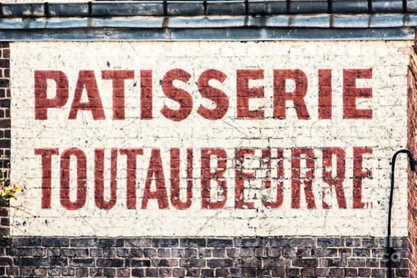 Wall Art - Photograph - Toutaubeurre by Delphimages Photo Creations