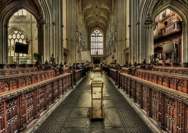 Bath Abbey Photograph - Toward Eternity by Evelina Kremsdorf
