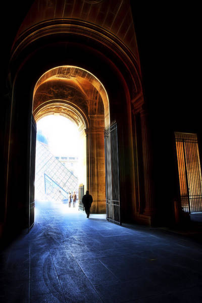 Photograph - Toward The Light Paris by Evie Carrier