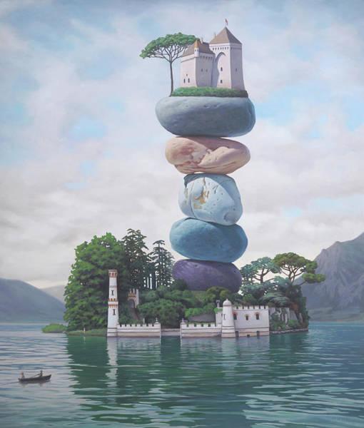 Idealism Wall Art - Painting - Towards A Nice, Steady Bourgeois Life by Paul Bond